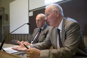 Peter Honeth och Hans Modig. Foto: Mikael Wallerstedt