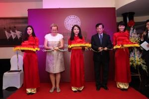 Invigningen i Hanoi