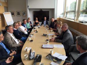 Frukostmöte med rektorer